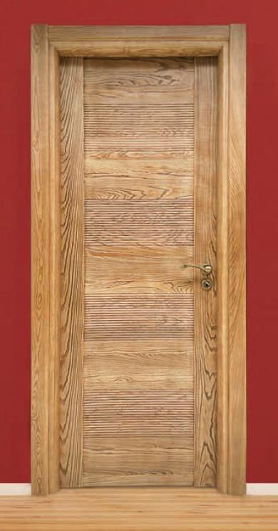 Porta per interni in legno | decapè base noce