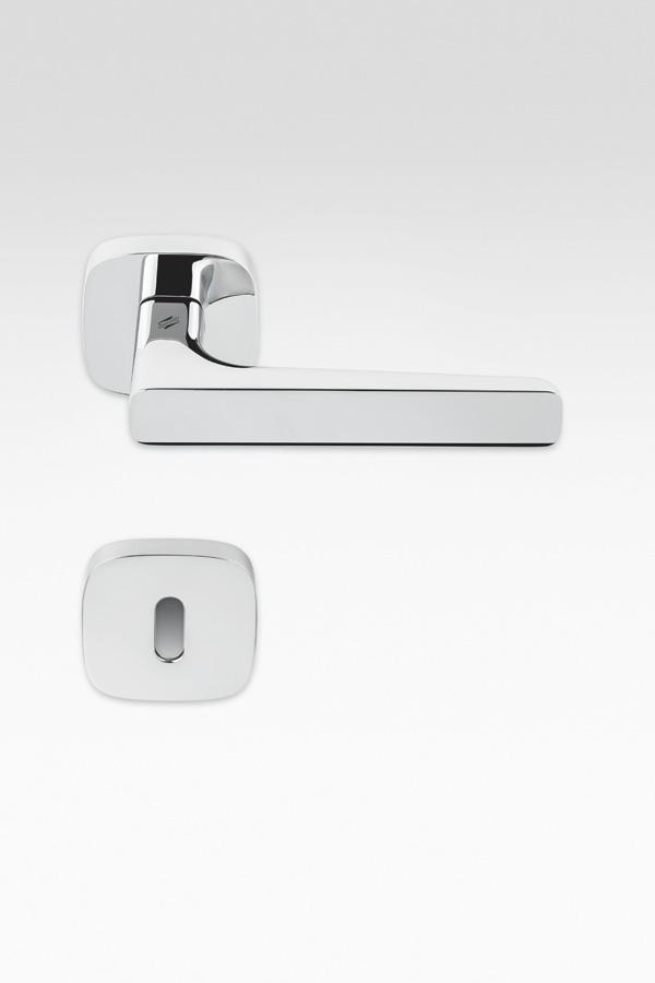 Maniglia lineare | argento