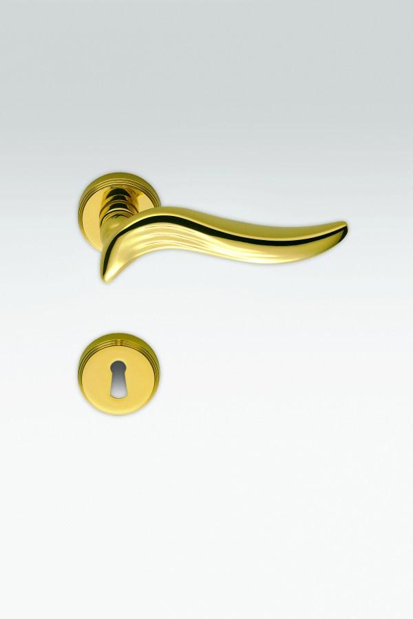 Maniglia onda | oro