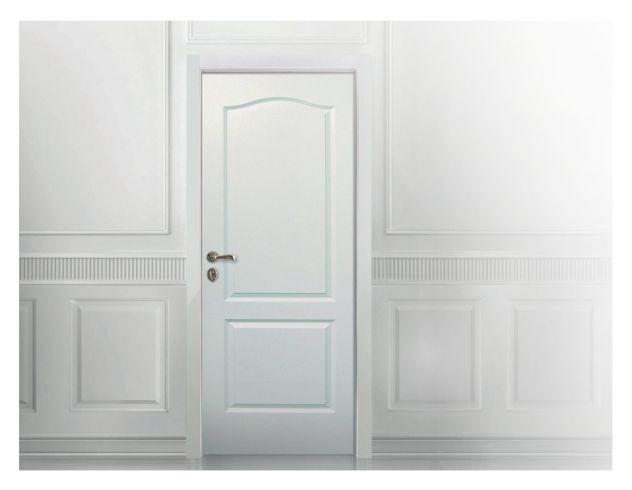 Porte Laccate Pantografate | bianco
