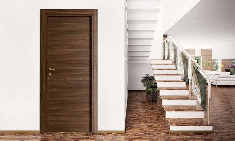 Porta interna in laminato| marrone