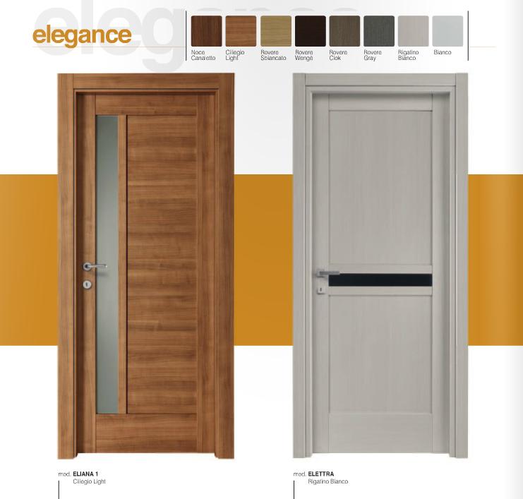 Porta interna in laminato| vari colori con vetri