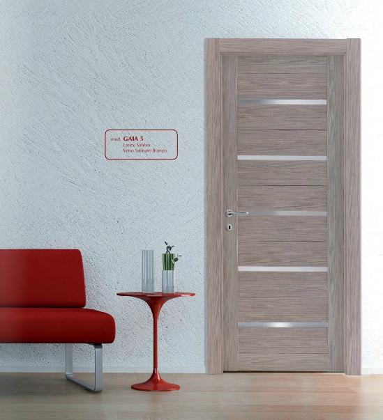 Porta interna in laminato| sabbia con vetri