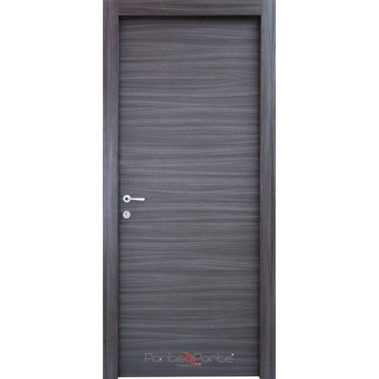 Porta interna in laminato  rovere gray