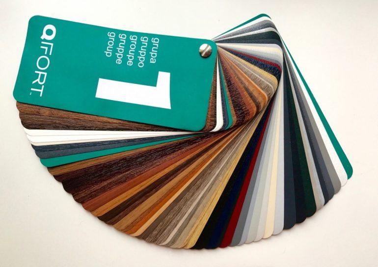 Qfort PVC | Mazzetta Colori Qfort