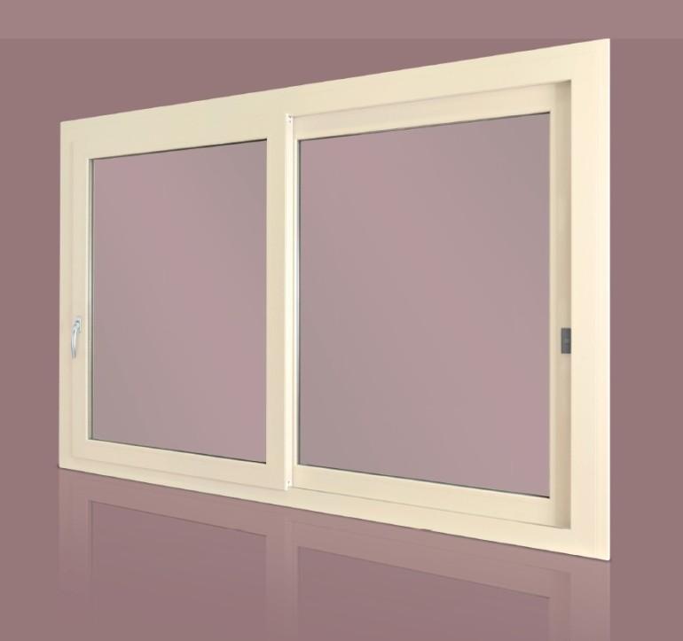 Finestra in PVC modello scorrevole