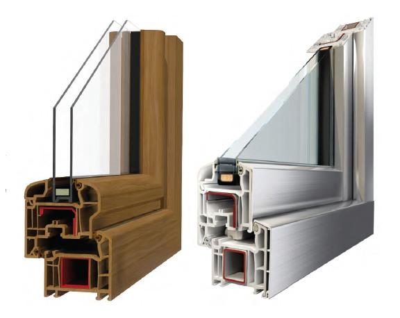 Profilo finestra in PVC 5 stars
