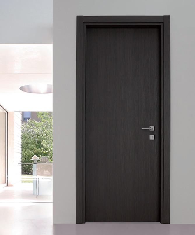 Porta interna in laminato  larice grigio lava