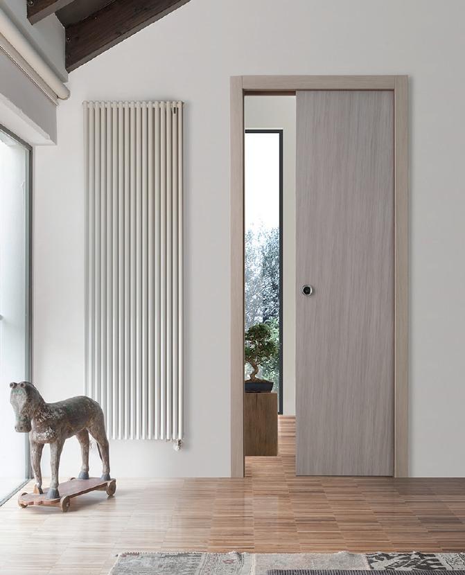 Porta interna in laminato| olmo grigio