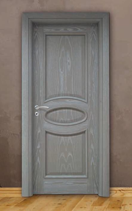 Porta per interni in legno | grigio decapè