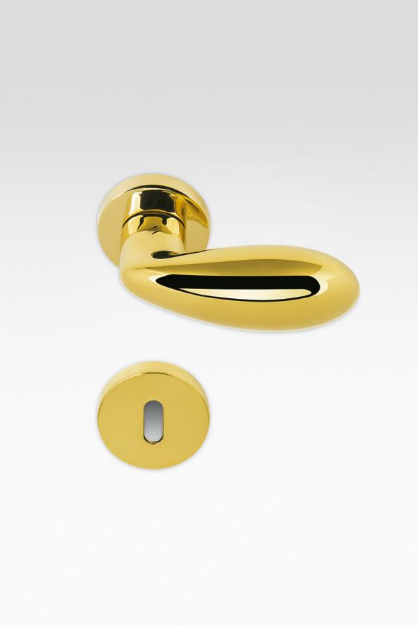 Maniglia goccia | oro