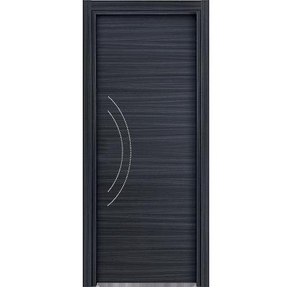 Porta interna in laminato| blu con brillantini