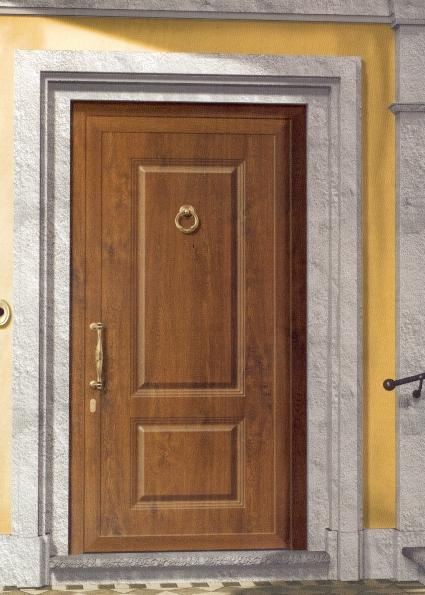 PORTONCINI in ALLUMINIO | ingresso in legno