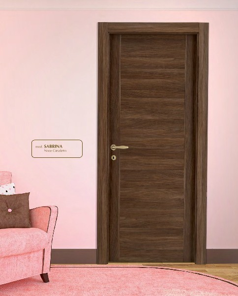 Porta interna in laminato| noce