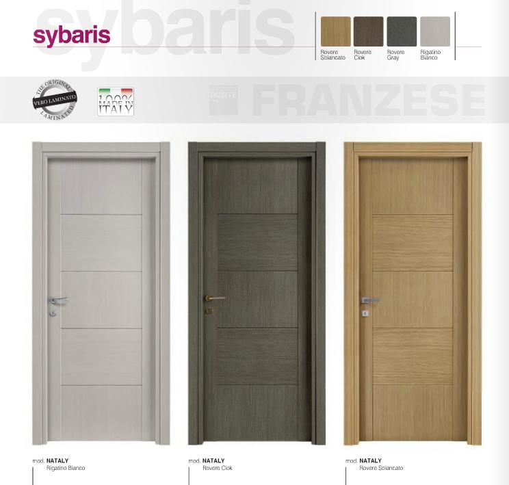 Porta interna in laminato| vari colori