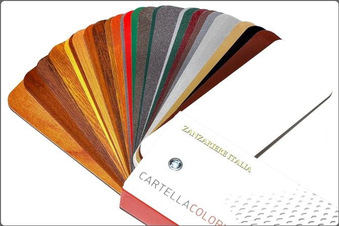Zanzariere | cartella colori