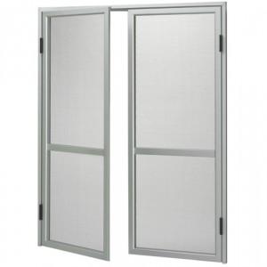 Zanzariere | per porta con battente bianco